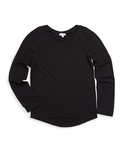 Splendid - Black Girl's Long-sleeve Tee - Lyst