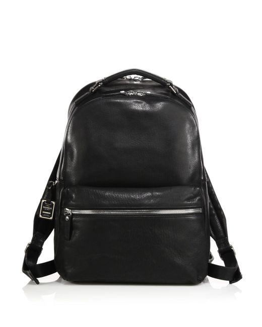 Shinola | Black Runwell Leather Backpack for Men | Lyst