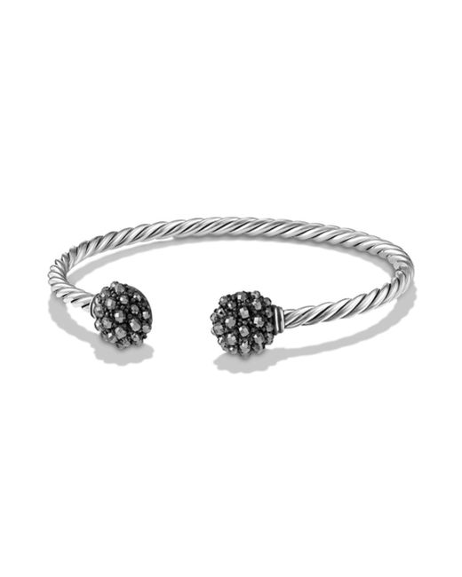 David Yurman - Metallic Osetra End Station Bracelet With Faceted Gemstones - Lyst