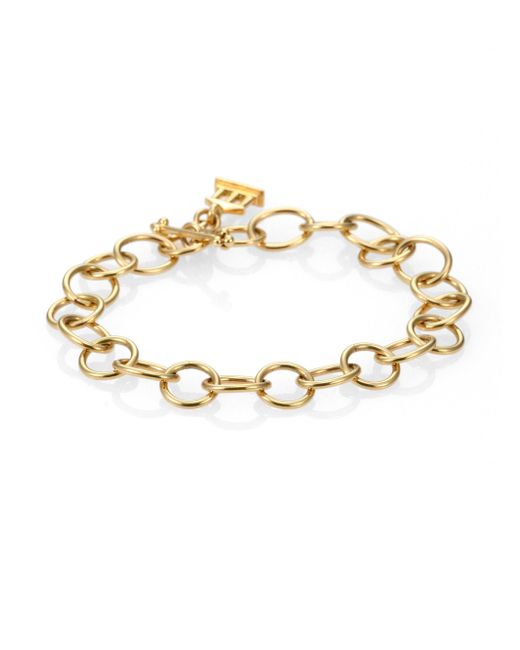 Temple St. Clair - Metallic 18k Yellow Gold Arno Chain Link Bracelet - Lyst