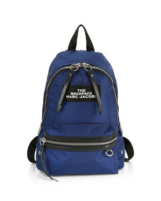 Marc Jacobs Black The Medium Backpack