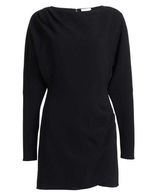 A.L.C. Black Greer Dolman-sleeve Dress