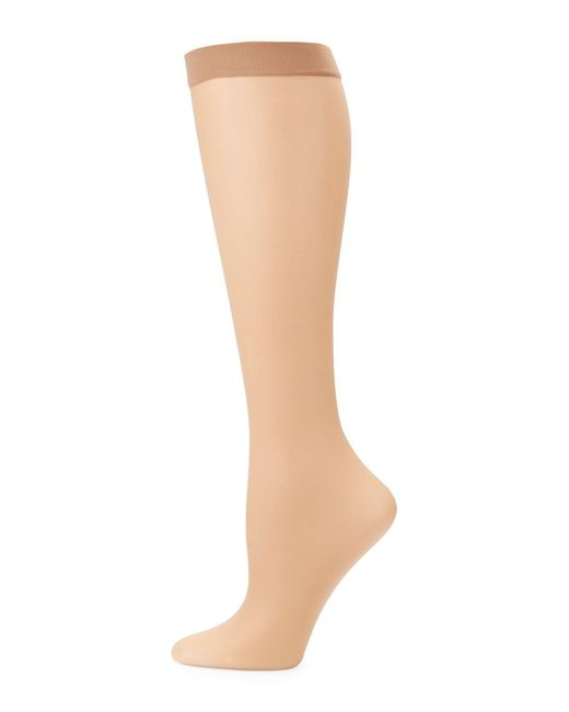 Fogal Natural All Nude Sheer Knee Highs