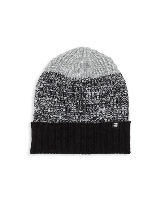 Block Headwear | Black Colorblock Beanie | Lyst
