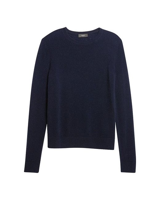 Theory Blue Cashmere Sweater