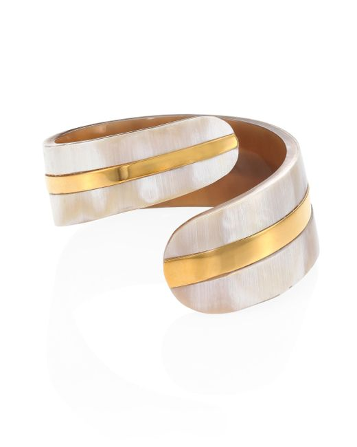 Nest - Multicolor Horn Cuff - Lyst