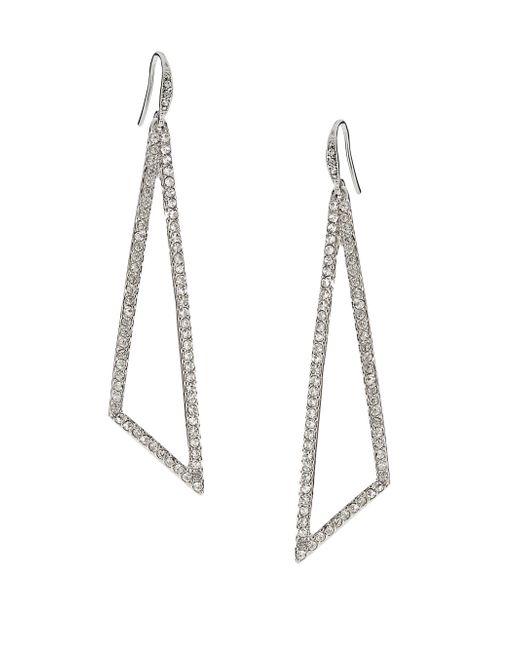 ABS By Allen Schwartz - Green Gold-tone Teal Wire-wrapped Teardrop Earrings - Lyst