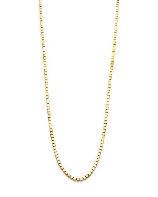 Eddie Borgo   Metallic Mini Double-sided Cube Necklace   Lyst