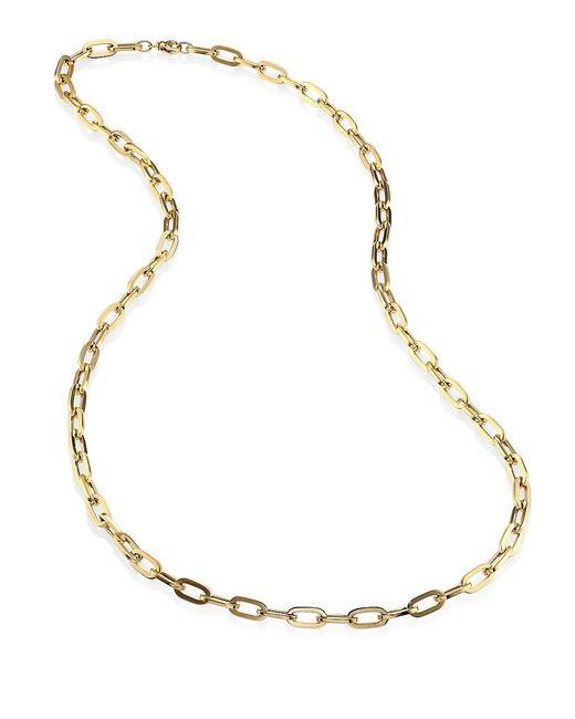 Roberto Coin Metallic 18k Yellow Gold Chain/34