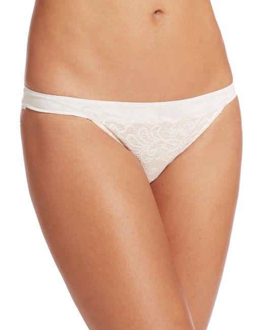 Le Mystere | Natural Sophia Lace Bikini | Lyst