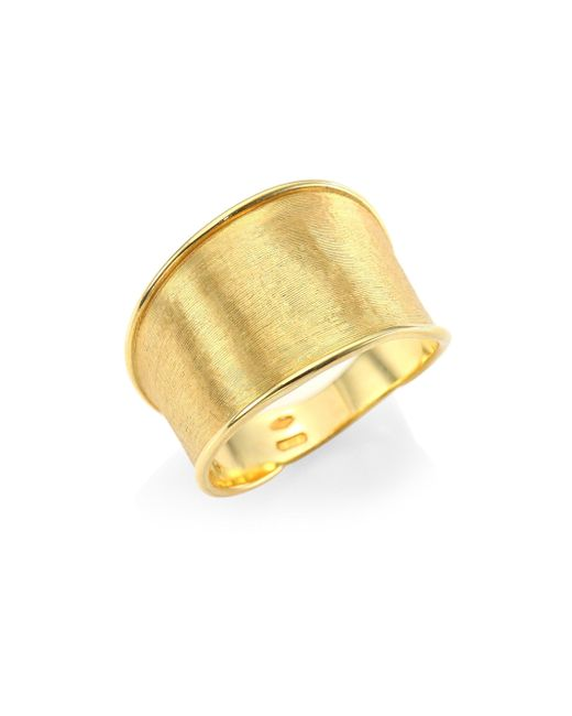 Marco Bicego - Metallic Lunaria 18k Gold Ring - Lyst