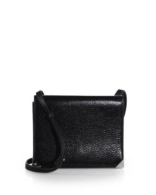 Alexander Wang | Black Prisma Double Envelope Leather Shoulder Bag | Lyst
