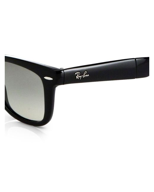 Ray-Ban Black Rb4105 Folding Wayfarer Sunglasses