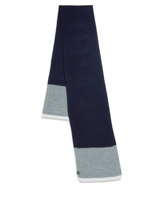 Block Headwear - Blue Waffle Stripe Scarf - Lyst