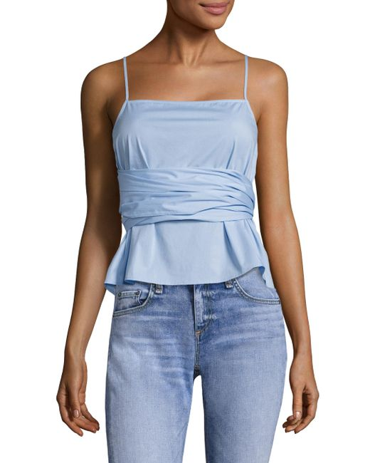 Elizabeth and James | Blue Montgomery Top | Lyst