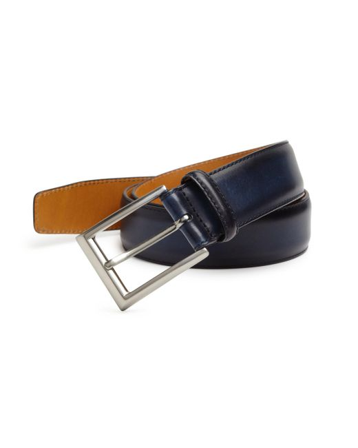 Saks Fifth Avenue - Multicolor Saks Fifth Avenue By Magnanni Wellington Leather Belt for Men - Lyst