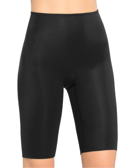 Spanx - Black Extended Length Power Panty - Lyst