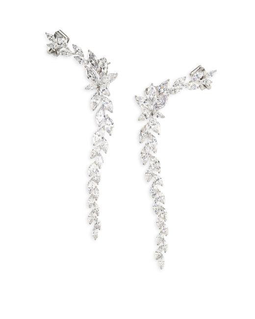 Adriana Orsini | Metallic Holiday Ear Crawler Earrings | Lyst