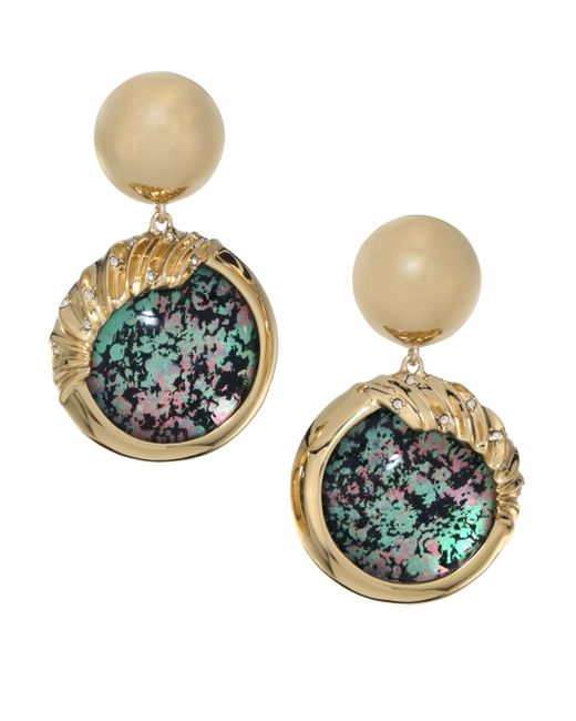 Alexis Bittar | Multicolor Lucite Sculptural Sphere Dangling Drop Earrings | Lyst