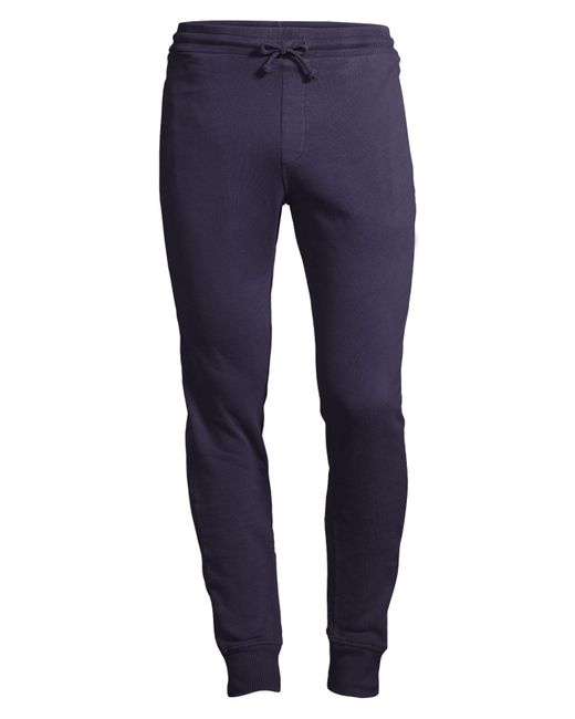 Wahts Gray Cotton & Cashmere Cuffed Sweatpants for men