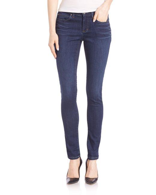 Eileen Fisher   Blue Skinny Jeans   Lyst