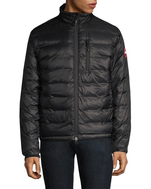 Canada Goose - Men's Lodge Down Jacket - Black Label for Men - Lyst