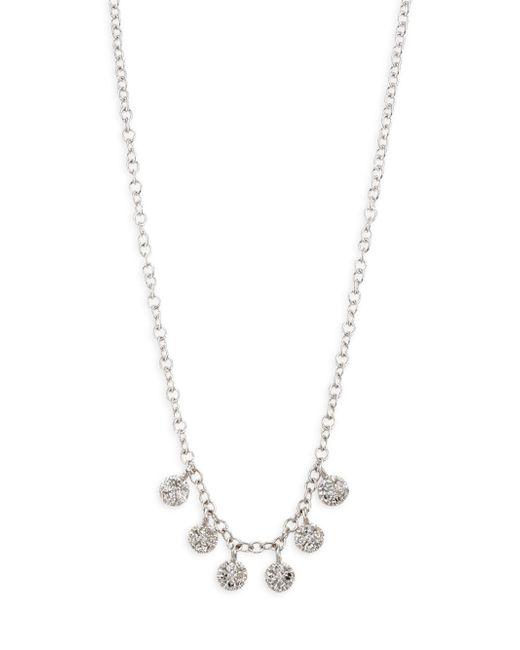 Meira T - Metallic Diamond Discs Necklace - Lyst