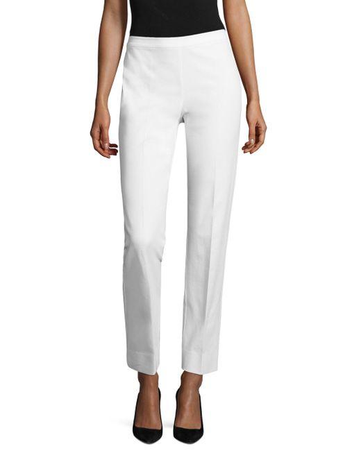 Lafayette 148 New York - White Jodhpur Cloth Bleecker Pants - Lyst