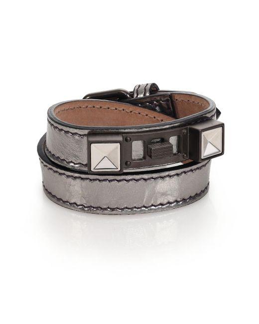 Proenza Schouler | Ps11 Metallic Leather Bracelet | Lyst