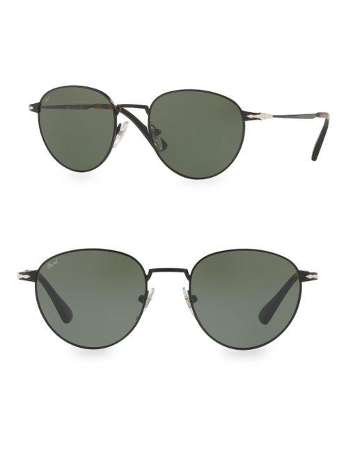 Persol - Black 52mm Aviator Sunglasses - Lyst