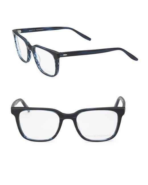Barton Perreira - Multicolor Joe Matte Midnight 52mm Optical Glasses for Men - Lyst