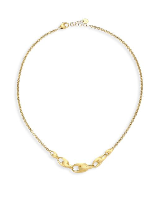 Marco Bicego - Metallic Legàmi 18k Yellow Gold Hand Engraved Necklace - Lyst