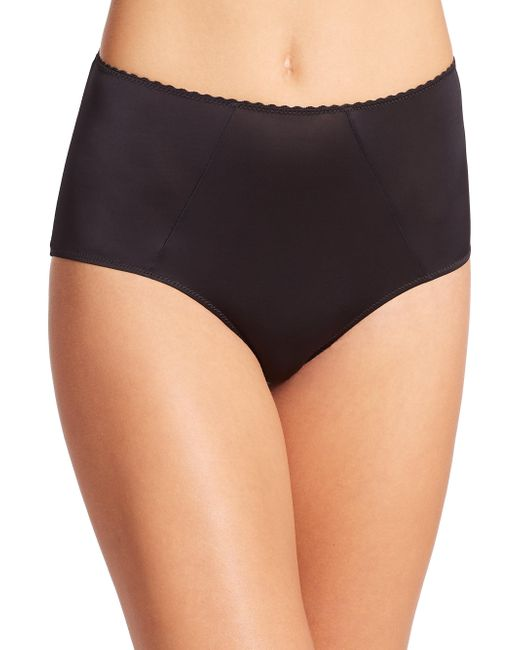 Hanro | Black Satin Deluxe Full Briefs | Lyst