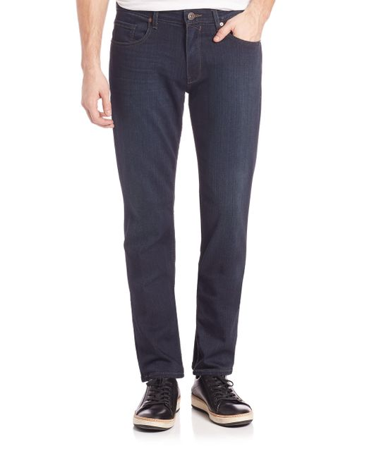 PAIGE - Blue Federal Extra Long Slim-fit Jeans for Men - Lyst