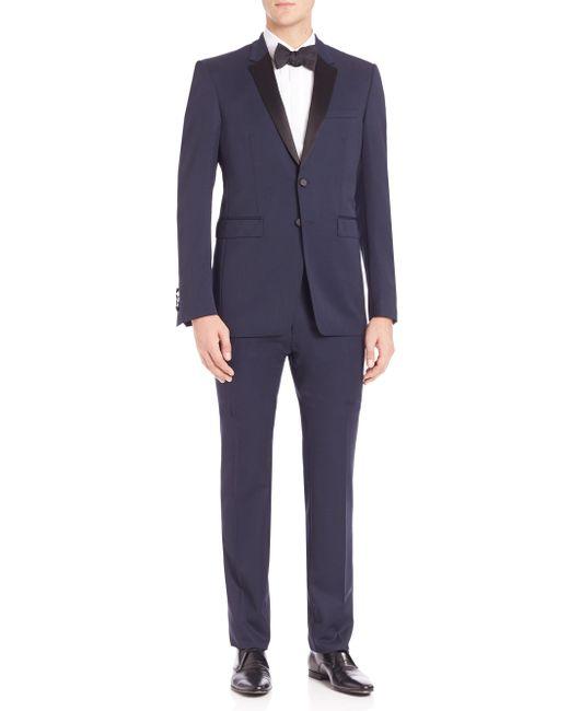 Burberry | Blue Millbank Tuxedo for Men | Lyst