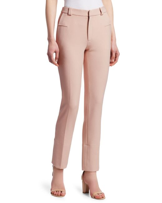 Roland Mouret - Pink Lacerta Trousers - Lyst