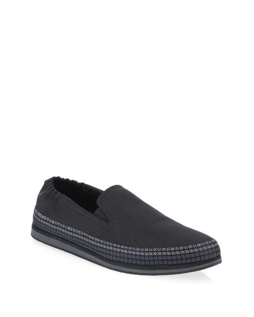 Prada - Black Slip-on Tech Espadrilles - Lyst