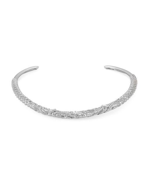 Adriana Orsini | Metallic Lush High Collar Crystal Necklace | Lyst