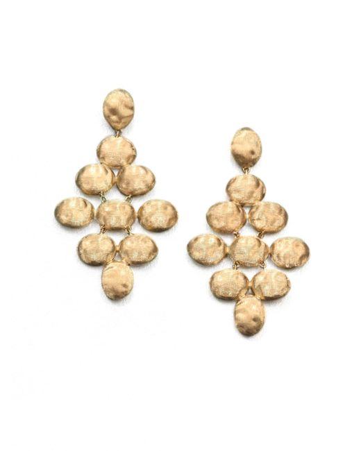 Marco Bicego - Metallic Siviglia 18k Yellow Gold Chandelier Earrings - Lyst