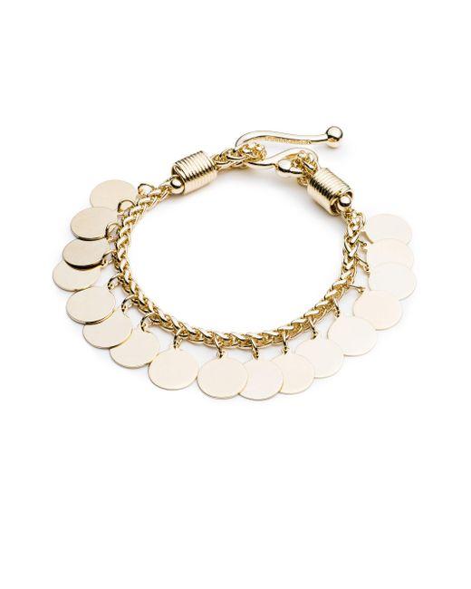 Eddie Borgo | Metallic Golden Coin Bracelet | Lyst