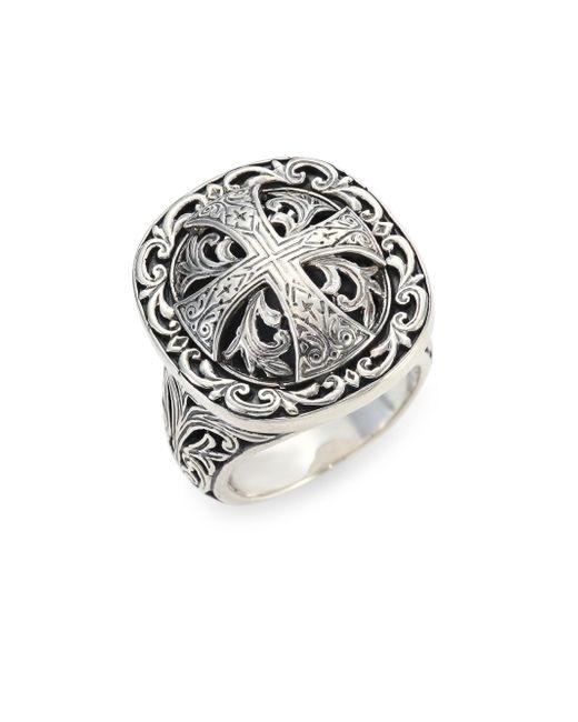 Konstantino | Metallic Sterling Silver Ring | Lyst