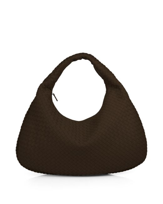 Bottega Veneta - Brown Veneta Medium Hobo Bag - Lyst