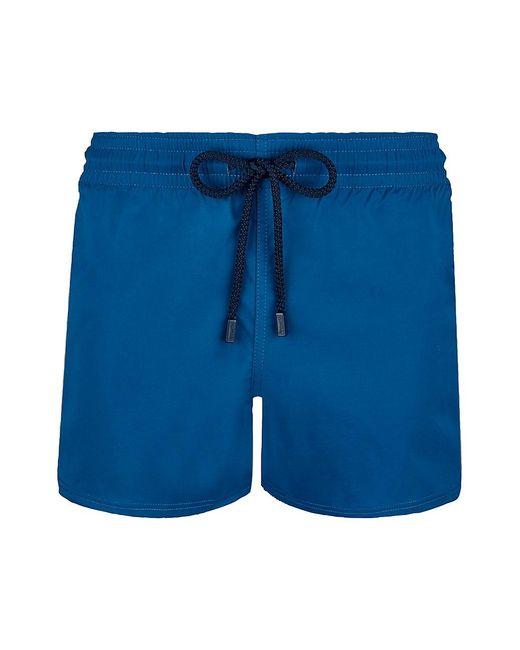 Vilebrequin Blue Unis Swim Trunks for men