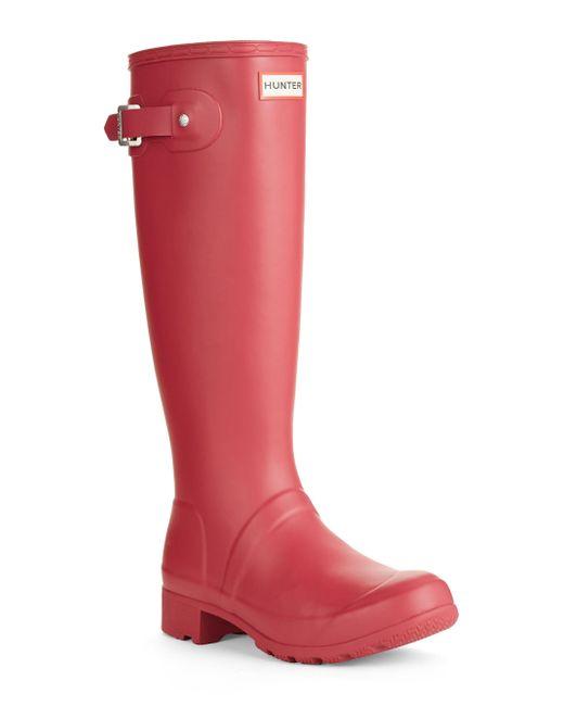 Hunter - Red Original Tour Rain Boots - Lyst