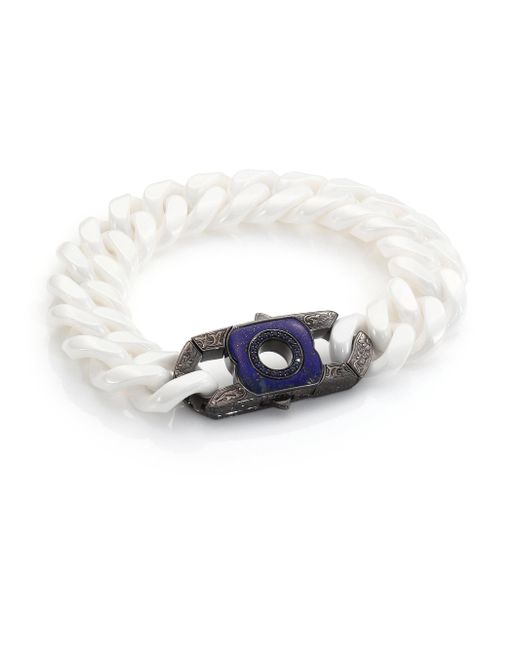 Stephen Webster | Blue Sapphire, Lapis & Sterling Silver Clasp for Men | Lyst