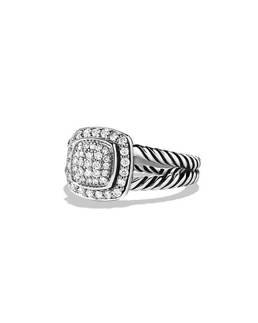 David Yurman | Multicolor Petite Albion Ring With Diamonds | Lyst