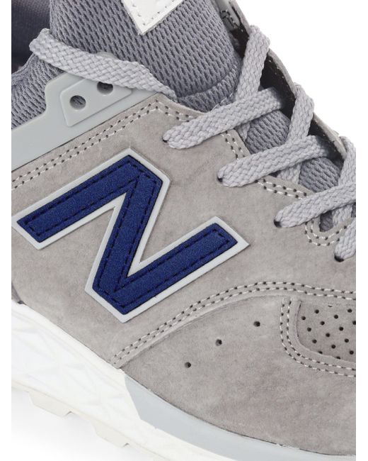 f8ac735197ec2 New Balance 574 Sport Suede Sneakers in Gray for Men - Save 55% - Lyst