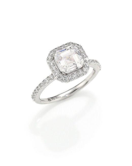 Adriana Orsini Metallic Pavé Ring