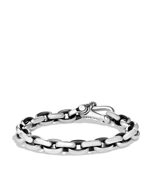 David Yurman - Metallic Chain Oval Link Bracelet - Lyst