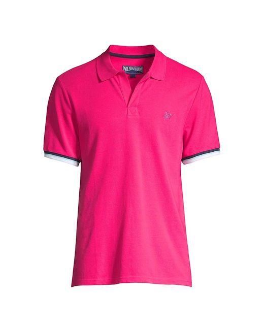 Vilebrequin Pink Cotton Pique Polo for men